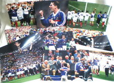 12 PHOTOS ORIGINALES COUPE DU MONDE DE FOOT 1998 FINALE FRANCE BRESIL