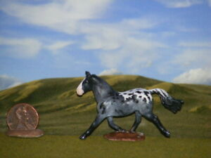 OOAK Breyer cm Custom Horse Mini Whinnies  x D. Williams Pretty Sugarbush Draft