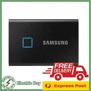 500GB 1TB 2TB Portable SSD Samsung T7 Touch USB-C External Solid State Drive