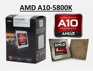 AMD A10-Series A10 5800K Quad-Core 4.2Ghz CPU FM2 AD580KWOA44HJ *Warranty*