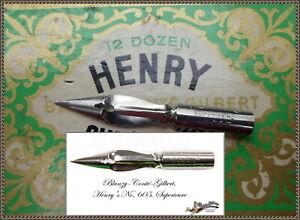 PROMOTION! 12 vintage Blanzy-Conté-Gilbert Henry Supérieure no.605 nibs