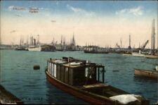 Tallinn Estonia Ships in Harbor Used c1910 Postcard