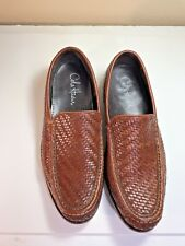 Cole Haan Collection Brown Woven Loafers Men's 8 M
