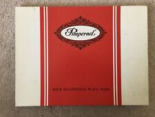 "Vintage Set of 4 X 19""x16""  Pimpernel traditionsl Place Mats Made In England"