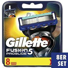 Gillette Fusion 5 Proglide Rasierklingen, 8 Stück Ersatzklingen, OVP