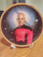 Hamilton Collection Star Trek The Next Gen Capt Jean-Luc Picard Plate 0013U 1993