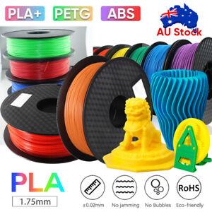 3D Printer Filament PLA/ PETG/ABS 1.75mm Accuracy +/- 0.02mm 2.2 LBS (1KG) Spool