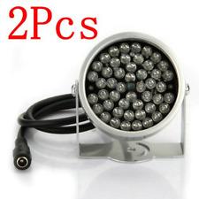 BW® 2x 48 LED IR Illuminator Lamp CCTV Infrared Security Camera Light Night