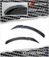 Carbon Fiber Rear Wheel Arch Trims Set for Mercedes W204 C-Class C250 C350 C63