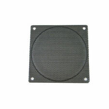 140mm (Black) Steel Mesh Fan Filter with Small Hole