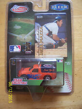 NEW YORK METS Team Ford Truck Mike Piazza Fleer Card '99 White Rose Collectibles