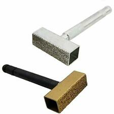 Accessories New Grinding Wheel Dresser, 2 Pieces Flat Diamond Coated Surface For