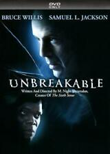 UNBREAKABLE NEW DVD