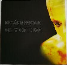 VINYLE MAXI 12'' MYLENE FARMER CITY OF LOVE RARE NEUF SOUS BLISTER 2016