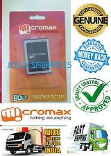 ★ 100% NEW GENUINE BATTERY FOR ★ MICROMAX  Superfone Canvas A100 ★