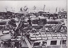 Bombed Railroad Yards in Vire France WWII Dispatch Photo News Service