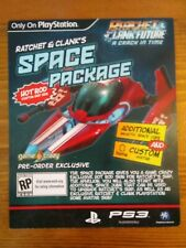 Ratchet & Clank Space Package - PS3 Pre-order Game Crazy Exclusive DLC Card