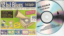 KID KOALA 12 Bit Blues UK 12-trk numbered/watermarked promo test CD sealed