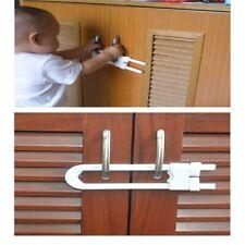 New listing Baby safety lock U shape kids cabinet locks protection cabinet security locking