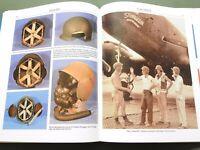 """GEAR UP!"" US ARMY AAF WW2 PILOT FLIGHT JACKET HELMET CAP GOGGLES REFERENCE BOOK"