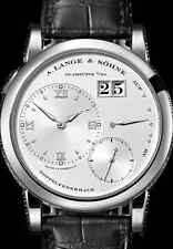 A. Lange & Söhne Lange 1 Doppelfederhaus 18kt White Gold Up/Down 101.039 Rhodium