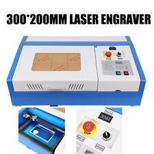 40w Co2 Laser Graviermaschine Gravurmaschine Schneider Carving Fräsmaschine 220v