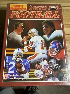 Sports Illustrated Statis Pro Football Game Avalon Hill 1988 Edition - NEW!