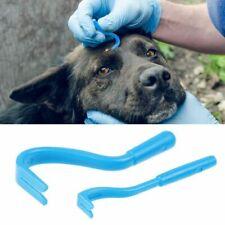 Tick Removal Tool 2 Hook Pet Cat Dog Rabbit Human Remover UK Tick Treatment Set
