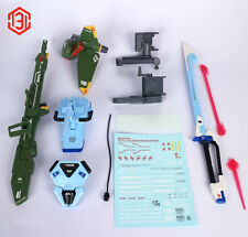 M3 Weapon Equipment Sword and Launcher pack for Bandai 1/60 PG Strike Gundam