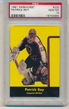1991 Parkhurst Patrick Roy (All-Star Card) (HOF) (#220) PSA10 PSA