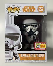Funko Pop Star Wars #252 Imperial Patrol Trooper SDCC Limited Edition Sticker