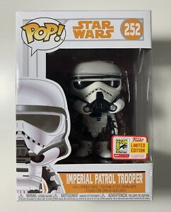 Funko Pop Star Wars #252 Imperial Patrol Trooper SDCC Limited Edition Sticker