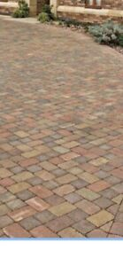 Rustic Bradstone Woburn Rumbled Tumbled   Block Paving  80 mm   FREE DELIVERY