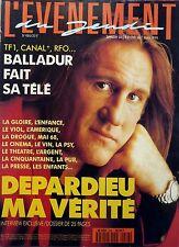 Mag 1994: 25 pages sur GERARD DEPARDIEU!!! + PATINAGE ARTISTIQUE_HELENE ROLLES