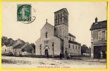 cpa MAISON ROUGE (Seine et Marne) L'EGLISE du Village SIMI BROMURE A. BREGER