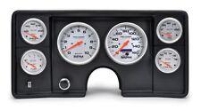 82-87 El Camino/ Monte Carlo / Malibu Blk Dash Panel with Ultra Lite Gauges