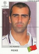 N°161 PEIXE FC.PORTO UEFA CHAMPIONS LEAGUE 1999/2000 STICKER PANINI PORTUGAL