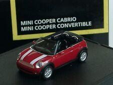 Herpa New Mini Cooper Cabrio, rot, Sondermodell 828 - 1:87