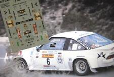 DECAL CALCA 1/43 OPEL MANTA 400 S. SERVIA RALLY COSTA BLANCA 1984