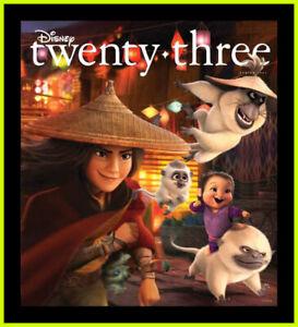 Disney Twenty Three D23 Magazine - Spring 2021 - Raya & Last Dragon