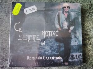 ADRIANO CELENTANO - C'È SEMPRE UN MOTIVO - CD + DVD - SIGILLATO