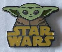 Disney Trading Pin Loungefly Star Wars The Mandalorian Blind Box Baby Yoda Logo