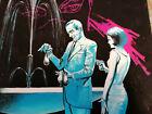 Rudolf Sieber-Lonati Originalzeichnung Titelbild Thriller - Fledermaus 368 Pabel