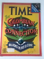 "Time Magazine 1979 January 29 The Columbian Connection ""Billions In Pot And Coke"