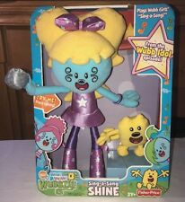 2009 WOW WOW WUBBZY Sing A Song SHINE Fisher Price New HTF 3Y+ Nick Jr.