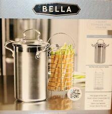 Bella 3 Quart Stainless Steel Pot Steamer