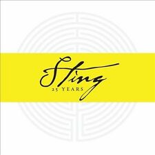 25 Years by Sting (CD, Sep-2011, 4 Discs, A&M (USA)) SEALED NEW