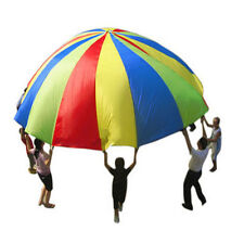 20ft / 6M Kids Play Rainbow Parachute Outdoor Game Development Exercise Y