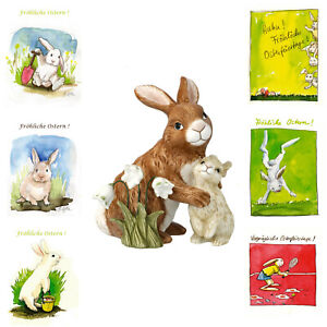 Goebel - Jahreshase 2021 - Hase 13,0 cm - NEU - OVP - plus 6 Oster Postkarten