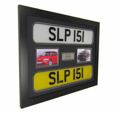 frame display for your 2 x car number plate on the wall great unique gift